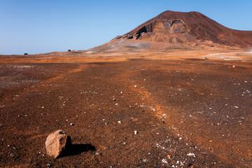 Cape Verde Calhau Volcano on Sao Vicente Island
