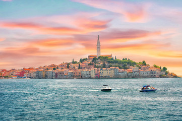 Croatia. View of Rovinj