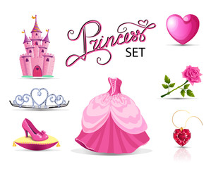 Pink priness set.