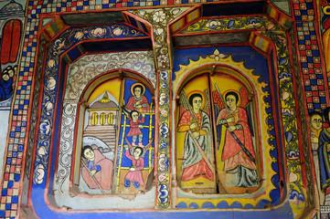 Sacred pictures in Ethiopia
