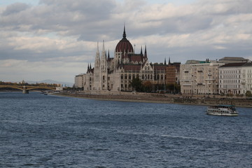 The view of Budapest, year 2008