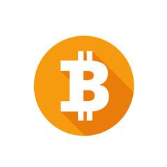 Bitcoin illustration vector