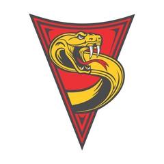 snake emblem triangle