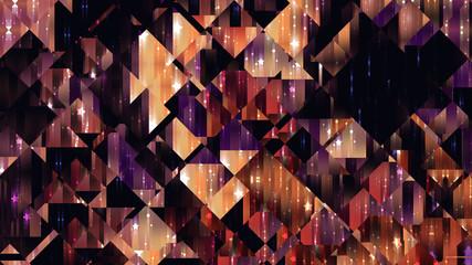 abstract background. orange mosaic