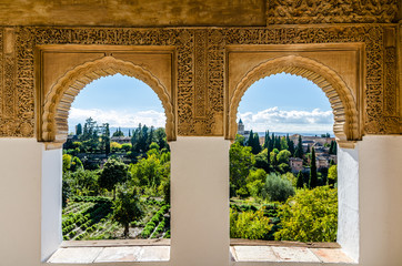 Photo sur Plexiglas Monument Alhambra Alhandalus