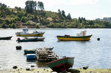 Fishermen Boat - Castro Bay - Chile