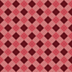 Red, retro looking, vintage, vector pattern.