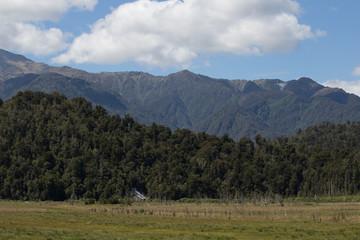 Farmland Under the Mountains