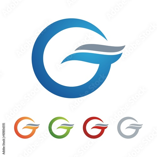 Letter G Wave Business Design Logo Vector Stock Image And Royalty Rh Fotolia Com