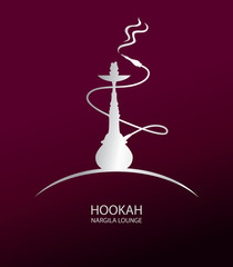 Hookah Lounge Bar Menu, Nargile, Nargila, hubble bubble (Vector Art)