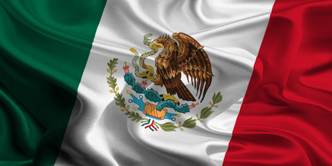 Flag of Mexico Wall mural