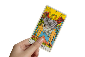 Tarot card, The Lovers