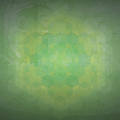 Sacred geometry symbol background