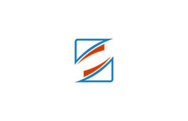 square line logo vector