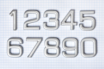 Silver numbers isolated