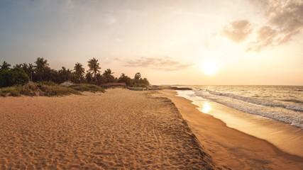 Sunset at Beach near Kalpitiya, Sri Lanka