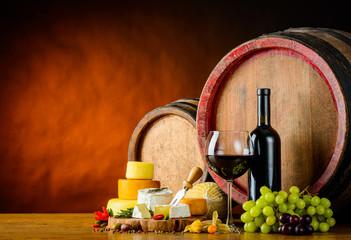 Wine and Cheese Wheel