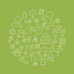Eco Background - Saving The Planet