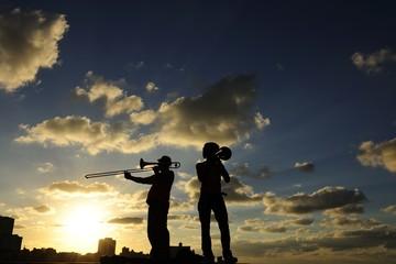 Ambiance musicale à Cuba