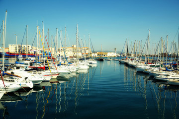 Port Of Sete in France