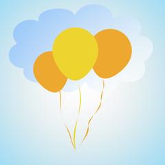 Palloncini tra le nuvole