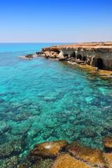 Photo sur Aluminium Chypre Turquoise sea in Cyprus
