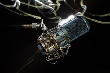 Professional studio microphone.