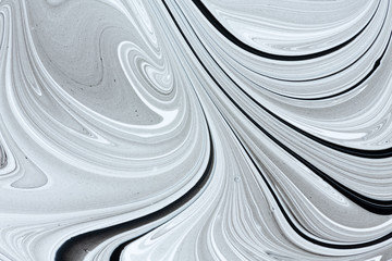 Mix of a white and black paint.