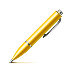 Pen isolated on white vector