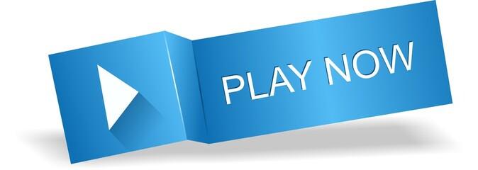 Original play button, label