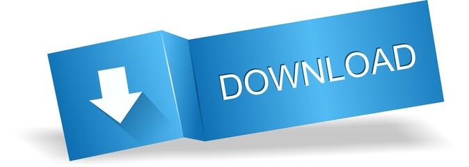 Original blue download label, button
