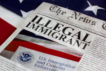 Illegal immigrant headline