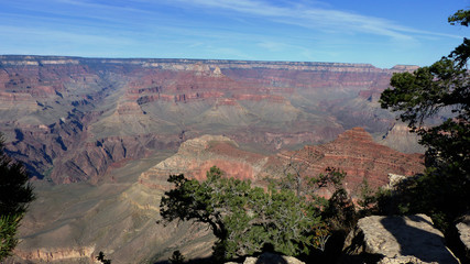 Grand Canyon National Park/Rock formations in the Grand Canyon National Park in the United States of America