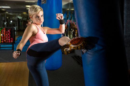 Self defense training kickboxing muay thai tae bo weight loss extreme intense crossfit workout