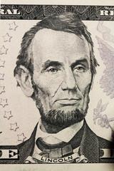 portrait on dollar