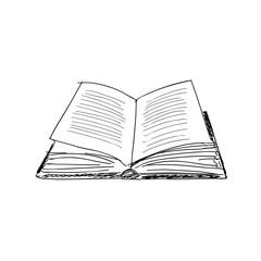 vector sketch drawing book illustration