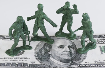 Guarding American Money.
