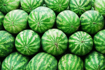 stacking watermelons background