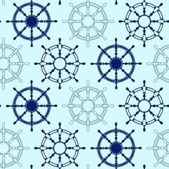 Seamless pattern made of steering wheels