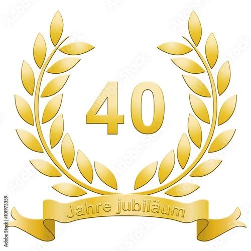 Lorbeerkranz 40 jahre jubil um stockfotos und - Geburtstagsbilder zum 25 ...