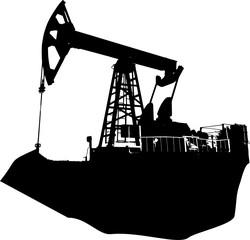 oil well island