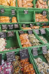 Vegetable market in Oslo, Norway.