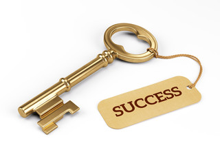 Key to Success Wall mural