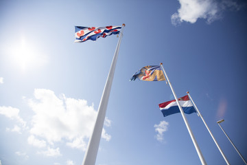 Flags in Netherlands