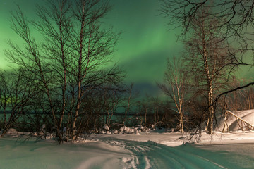 Northern Lights, Aurora Borealis in Finland
