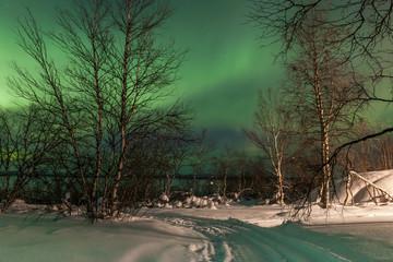 Northern Lights, Aurora Borealis in Finland