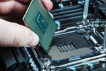 CPU in hand