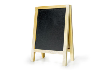 black board or chalk board with space