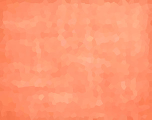 vector illustration - peach abstract mosaic polygonal background