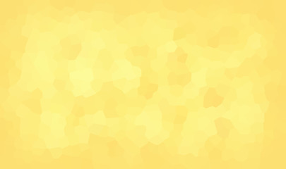 vector illustration - abstract mosaic polygonal yellow background